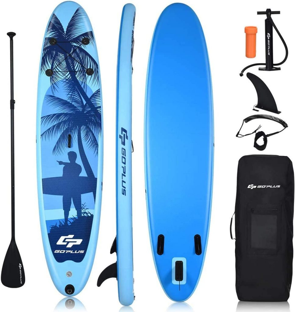 best inflatable paddle board under $400
