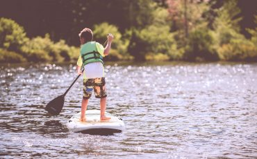 how do inflatable paddle boards work